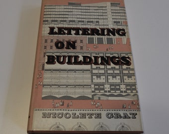 Lettering on Buildings by Nicolette Gray, 1960 London