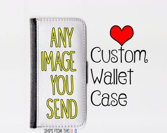 Galaxy S7 Edge case - Galaxy S7 Edge wallet case - Custom Samsung Galaxy S7 edge case - Custom Samsung Galaxy S7 edge wallet case