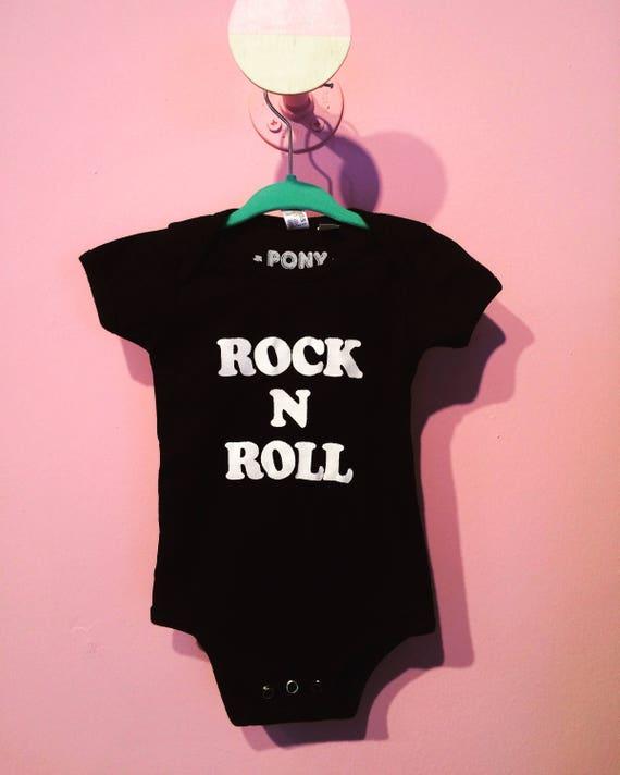 Rock n Roll baby onesie!