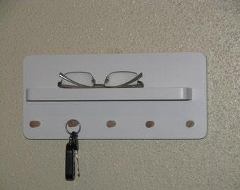 White Key Holder