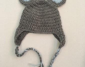 Baby Mouse Hat/Beanie Newborn Crochet