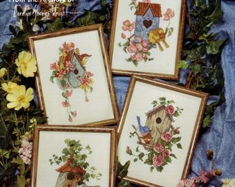 Nesting Places cross stitch leaflet by Country Cross-Stitch