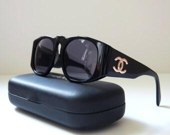 Chanel vintage sunglasses - Black Lady GaGa