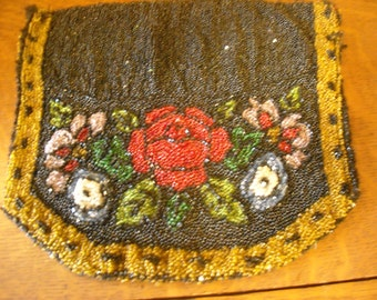 Antique beaded bag from 1800's