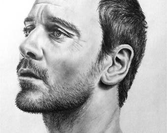 Custom Pencil Drawing - Any Celebrity