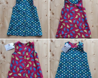 Crafty Pear Reversible A-line dress
