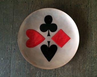 Annemarie Davidson Handmade Enamel Copper Plate