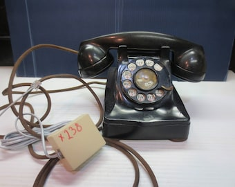 "Model 302 Western Electric 1949 ""Lucy"" Phone Henry Dreyfuss ""WORKS"""