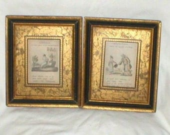 Antique Collectors School Framed Prints Adverb and Adjective