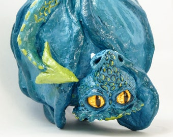 Dragon - bright - sculpture