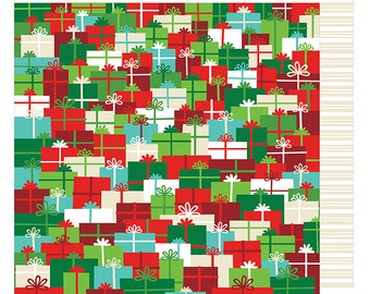 12x12 American Crafts Paper - Holiday Surprises