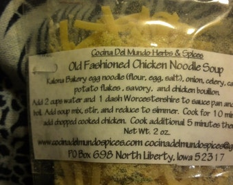 Old Fashioned Chicken Noodle