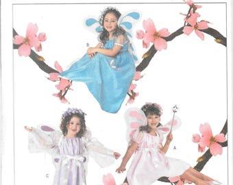 FAIRY COSTUMES Butterick  Pattern 3897 Child Sizes 2 3 4 5