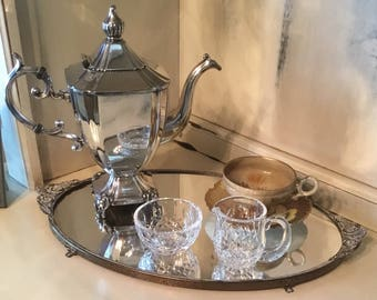 Vintage Silver Plate Coffee or Tea Pot