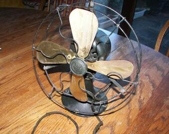 PRICE REDUCED!  G.E. electric fan, vintage fan, G.E. Whiz electric fan