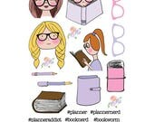 Book / Stationery Girls Stickers