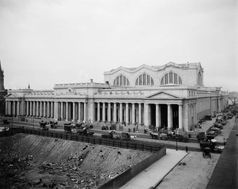 Pennsylvania Station, New York, N.Y., 1913, Early 1900's, NYC Train Station