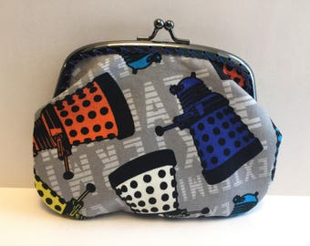 Large Dr Who Dalek Coin Purse