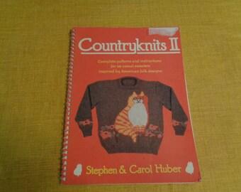 Vintage Countryknits II Knitting pattern book