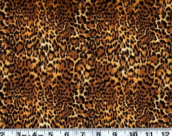 Animal  Print Cotton Fabric, Animal Skin Print By the Yard  #256-7