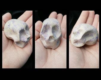 Royally Marbled Skull