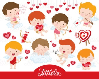 cupid clipart - valentine clipart - 16094
