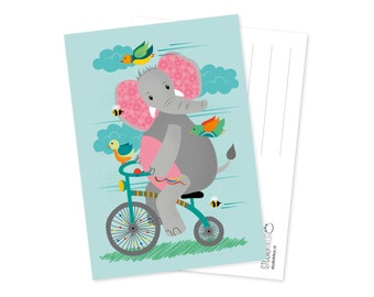 Kaart | The cycling elephant
