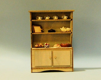 1/2 inch scale miniature-Hutch