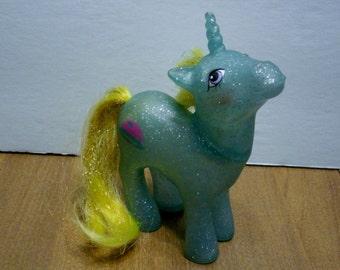 Vintage My Little Pony Unicorn Star Hopper Sparkle Ponies First Generation year 7 1988-1989