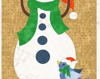 Snowman Doorhanger