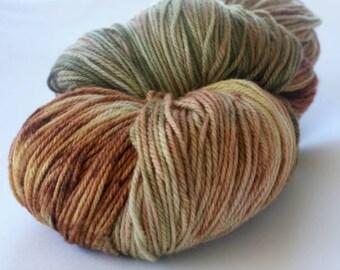 Hand Dyed Yarn - 8ply DK Superwash Merino