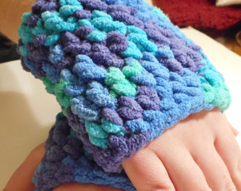 Fingerless Gloves Hand Crocheted
