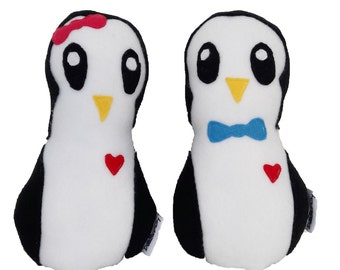Penguins couple
