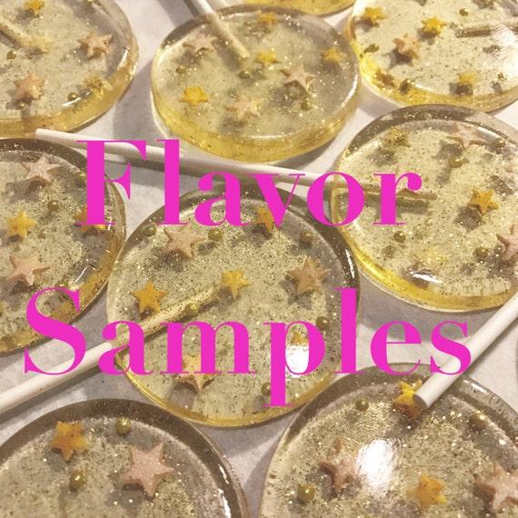 6 Flavor Sample Lollipops
