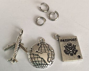 Travel charm collection