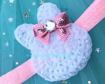 Easter Headband bunny headband easter hair clip bunny hair clip easter hair band baby headband infant headband toddler headband