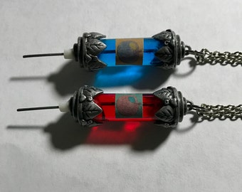 BioShock 1 & 2 inspired Adam and Eve Syringe  Necklaces