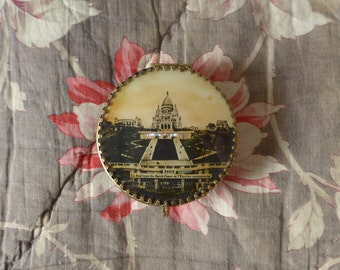 Paris vintage trinket box