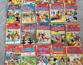 Archie Comic Books, Lot of 20, 1965-1971