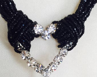 Moschino beaded necklace