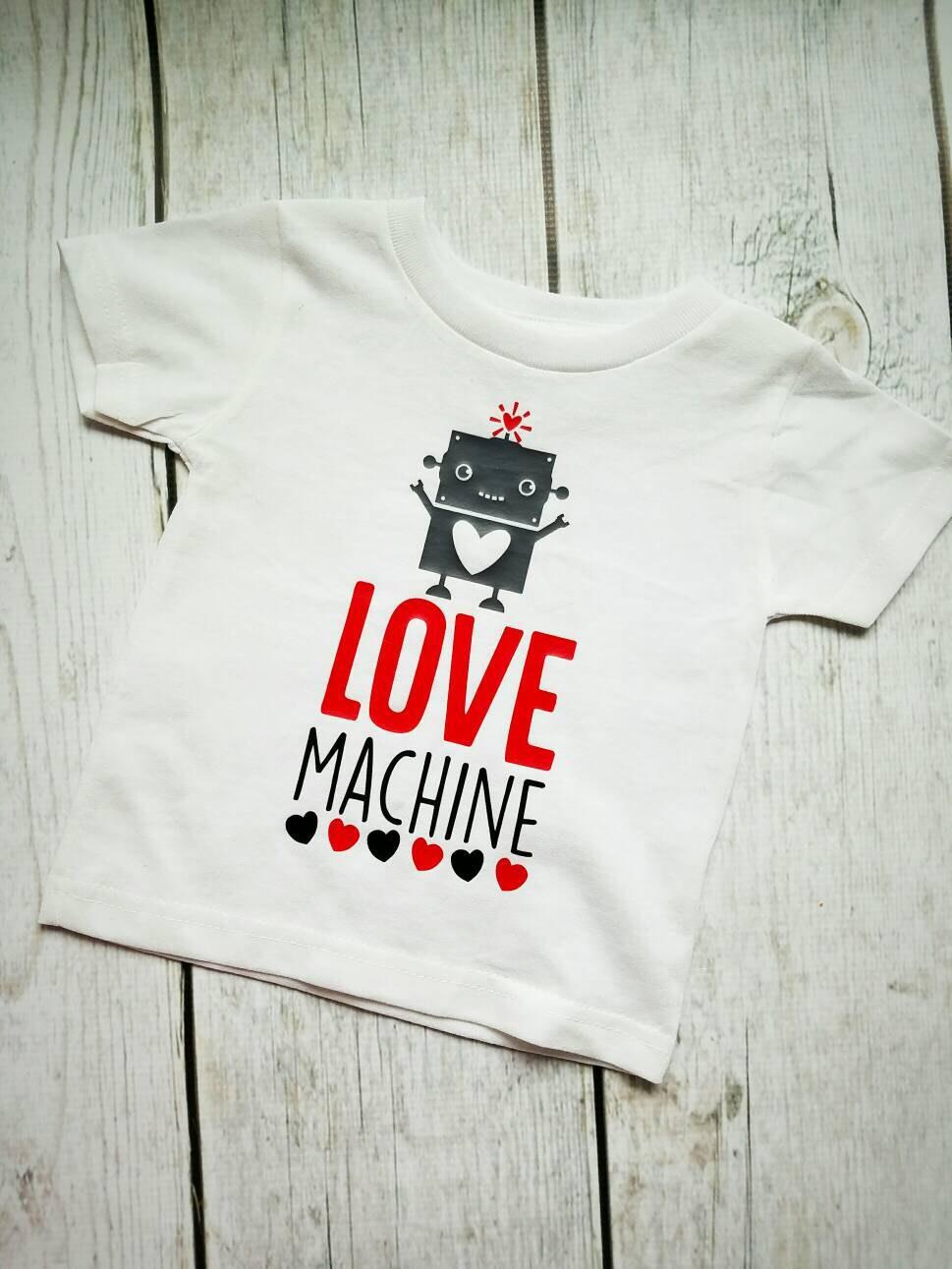 Valentines Day Boy Shirts