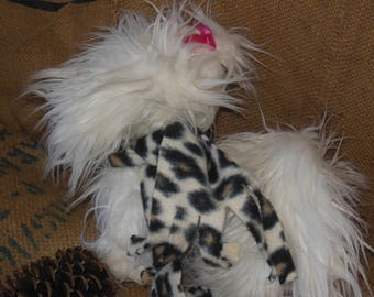 Polar fleece scarf