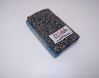 HARRIS TWEED small card holder/wallet - Limited Ed