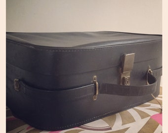 Reduced* Vintage Retro 60s/70s vanity case - Black