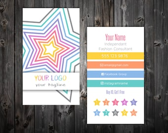 Business Cards - Stars