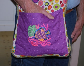 Combination Beach Towel and Handy carry all Bag.