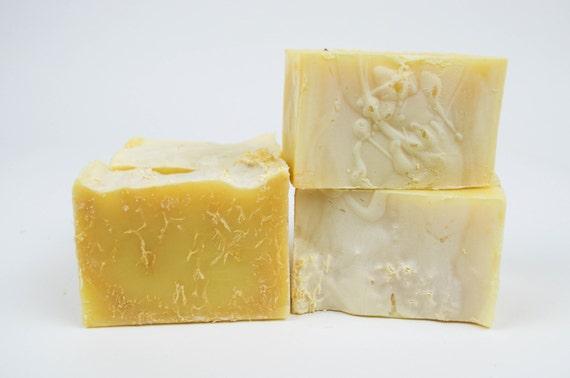 Lemongrass Loofah Olive Oil Soap