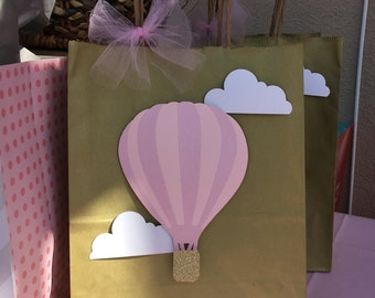 Hot Air Balloon favor bags