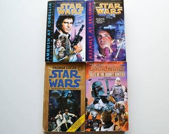 Four Vintage Star Wars Novels