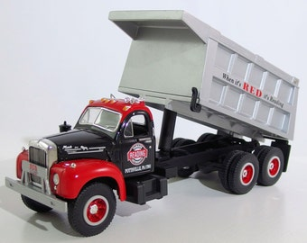 "Vintage First Gear 1996 Replica Mack ""Reading Anthracite"" Dump Truck - NIB"